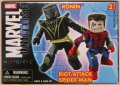 Ronin & Riot Attack Spider-Man