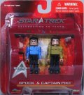 Spock & Captain Pike