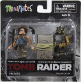 Battle Damaged Lara Croft & Armored Tomb Raider Scavenger